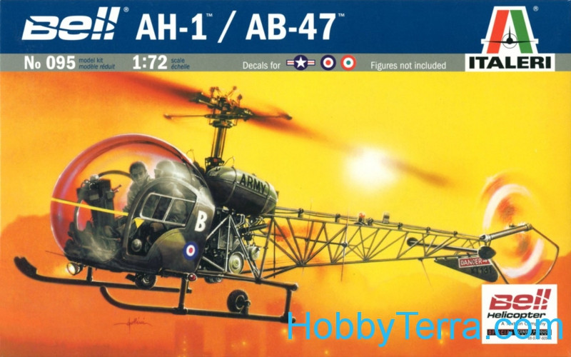 Bell AH-1/AB-47 helicopter