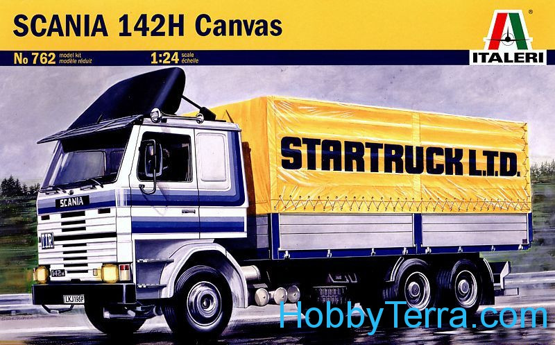 Scania 142H Canvas truck