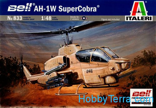 "AH-1W ""SuperCobra"" helicopter"