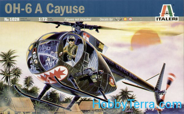 "OH-6 A ""Cayuse"" helicopter"
