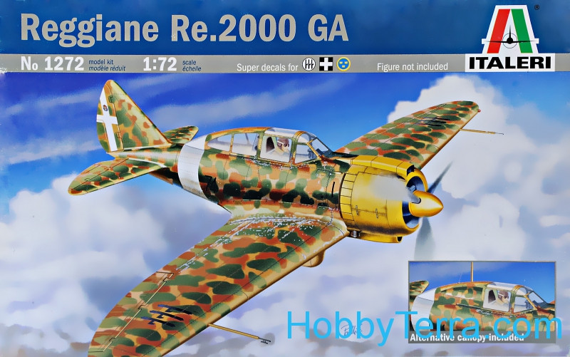 Reggianne Re.2000 GA Italian fighter