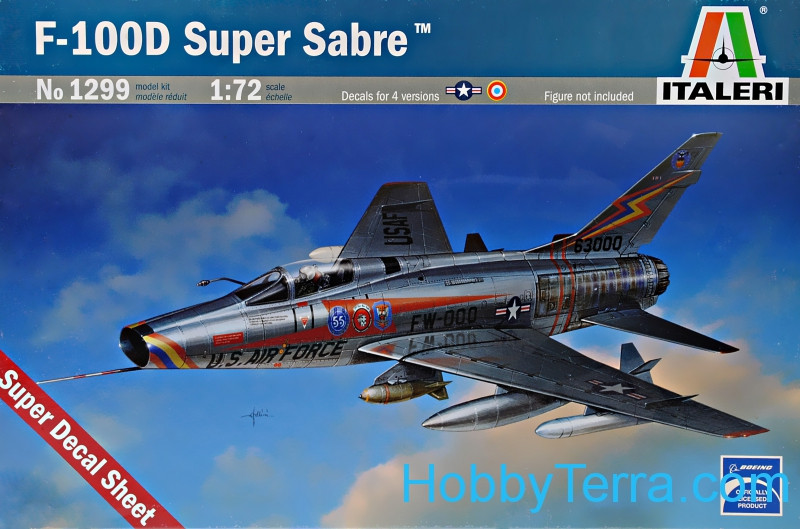 "F-100D ""Super Sabre"" fighter"