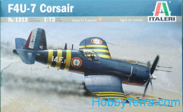 "F4U-7 ""Corsair"" fighter"