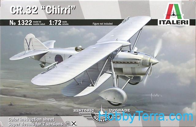 """Aircraft in 1:72 scale CR.32 """"Chirri"""" biplane Italeri 1322 ..."""
