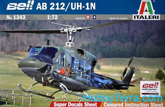 Bell AB.212/ UH-1N helicopter