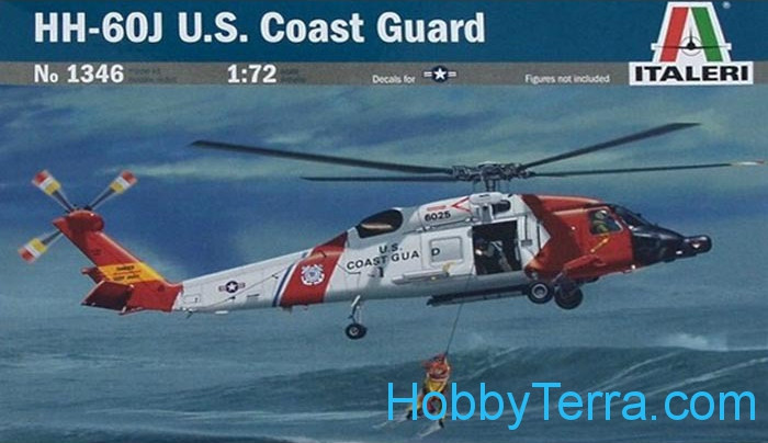 Italeri 1346 HH-60 J U S  Coast Guard helicopter