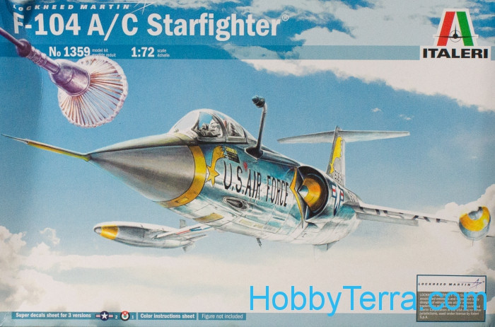 F-104 A/C Starfighter fighter