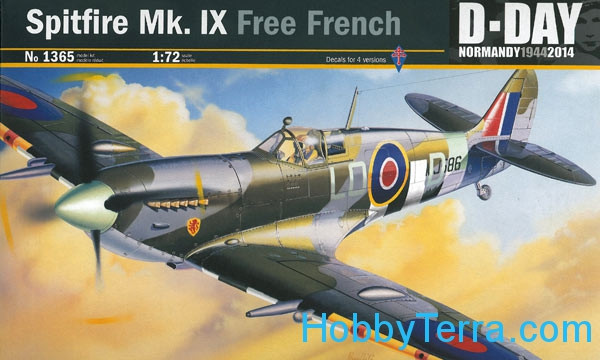 Spitfire Mk.IX Free French, D-Day