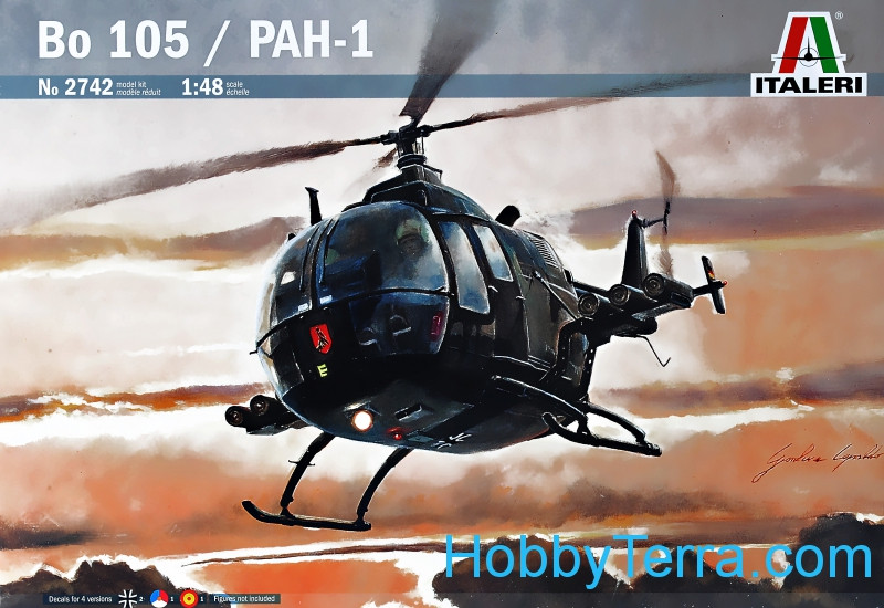 Helicopter Bo-105 / PAH-1