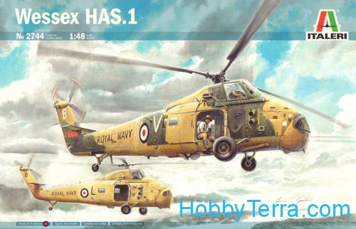 Italeri  2744 Wessex HAS.1 helicopter