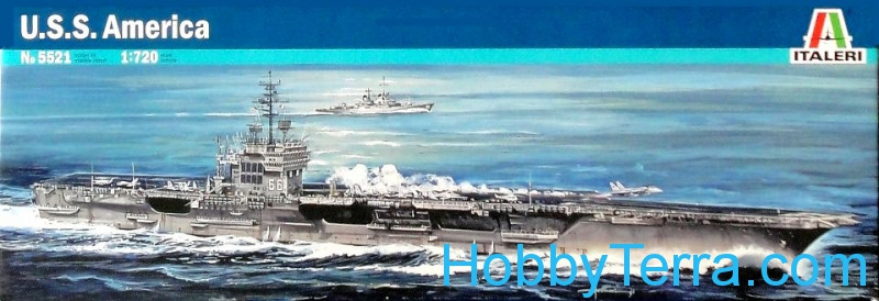 U.S.S. America aircraft carrier