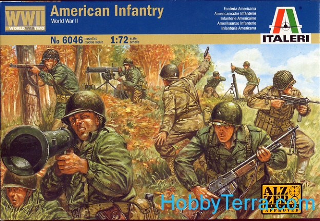 WWII American Infantry