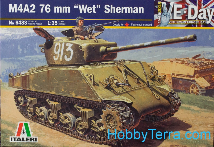 "M4A2 76 mm ""Wet"" Sherman"