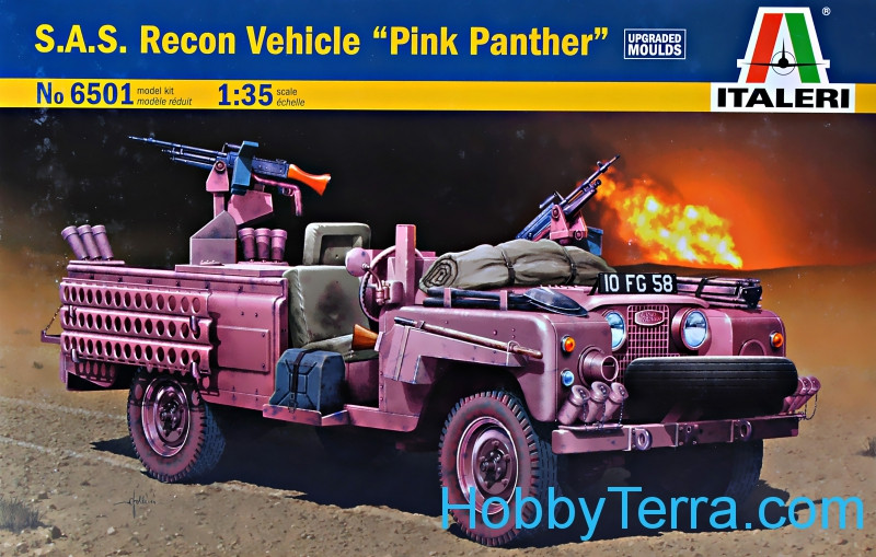 "S.A.S. Recon vehichle ""Pink Panther"""