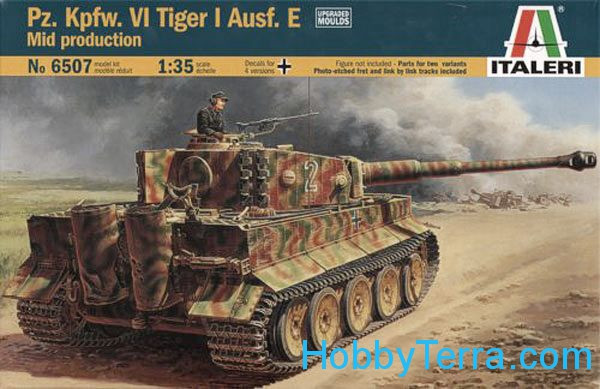Pz.Kpfw.VI Tiger I  Ausf.E mid production