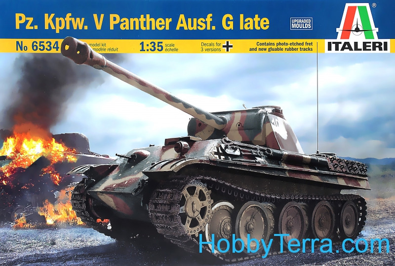 Pz.Kpfw.V Panther Ausf.G,late tank