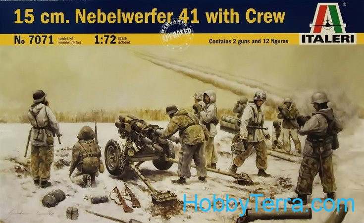 15 cm  Nebelwerfer 41 with Crew