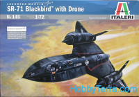 "SR-71 ""Blackbird"" with drone"