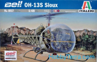 OH-13S Sioux helicopter