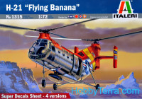 "Helicopter H-21 ""Flying Banana"""