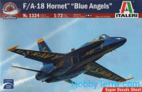 "F/A-18 Hornet ""Blue Angels"" fighter"