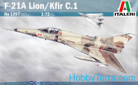 F-21A Lion/Kfir C.1 fighter