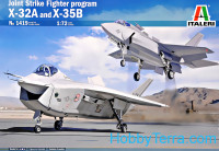 JSF Program X-32A and X-35B (two kits in the box)