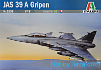JAS 39 A Gripen Swedish fighter