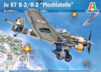 "Ju-87 B-2/R-2 ""Picchiatello"" German bomber"