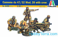 Cannone da 47/32 Mod. 39 with crew