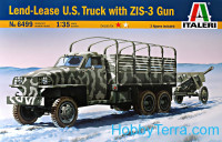 Lend Lease U.S. Truck with ZIS-3 gun