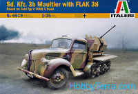 Sd.Kfz. 3b Maultier with Flak 38