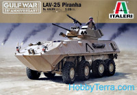 LAV-25 Piranha, Gulf war, 25th Anniversary