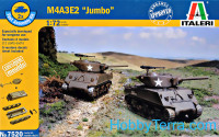 "Tank M4A3E2 ""Jumbo"" (two kits in the box)"