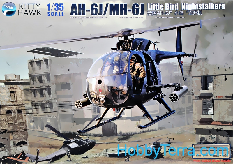 "AH-6J/MH-6J ""Little Bird"" helicopter"
