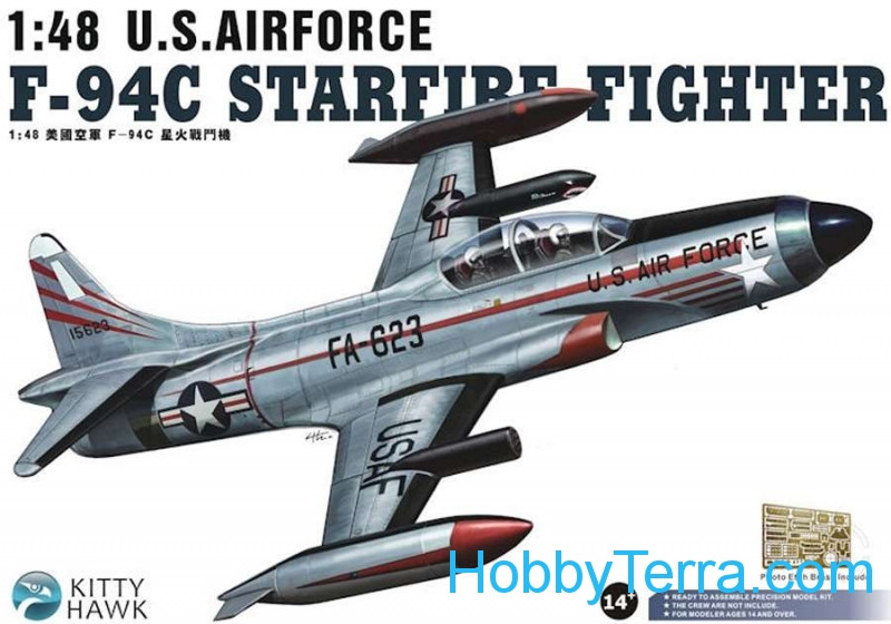 "Kitty Hawk  80101 F-94C ""Starfire"" fighter"