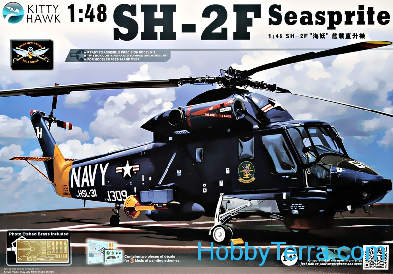"SH-2F ""Seasprite"" helicopter"