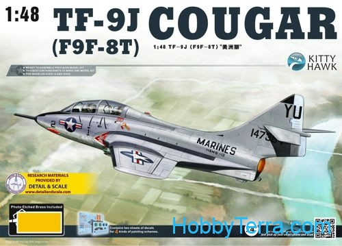 Kitty Hawk  80129 TF-9J Cougar fighter