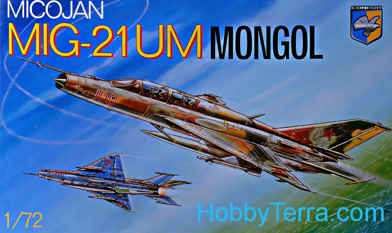 MiG-21 UM MONGOL Soviet trainer-fighter