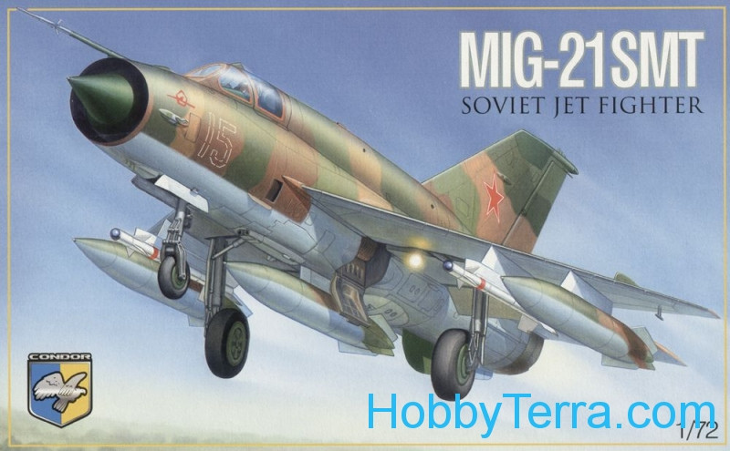 MiG-21 SMT Soviet multipurpose fighter