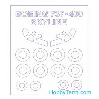 Mask 1/144 for Boeing 737-300 / 400 / 500 and wheels masks