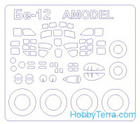 Mask 1/144 for Beriev Be-12/Be-18 and wheels masks