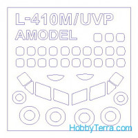 Mask 1/144 for L-410M/UVP and wheels masks, for Amodel kit