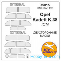 Mask 1/35 for Opel Cadet K.38 (Double sided), for ICM kit