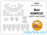 Mask 1/72 for BAe Nimrod, for Airfix kit