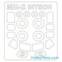 Mask 1/72 for Mi-2 and wheels masks, for Intech/Sky High kit