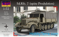 Sd.Kfz.7 (late Production) with tarpauline