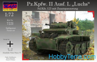 "Pz.Kpfw.II Ausf.L ""Luchs"" with ad-armor"