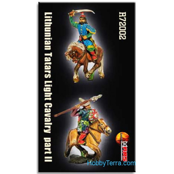 Mars Figures  R72002 Lithunian Tatars Light Cavalry, part II