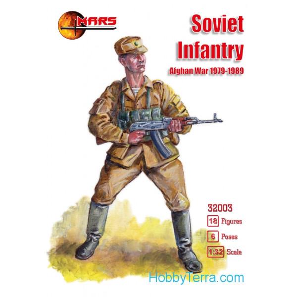 1:32 figures Soviet infantry, Afghan War 1979-1989 Mars ...